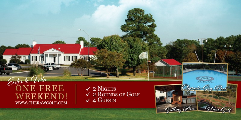Enter to Win a Free Weekend at Moree's Cheraw Country Club!